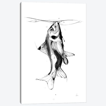 Fish Fuel Canvas Print #AMU11} by Alexis Marcou Canvas Art