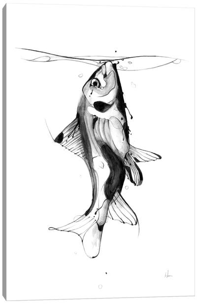 Fish Fuel Canvas Art Print