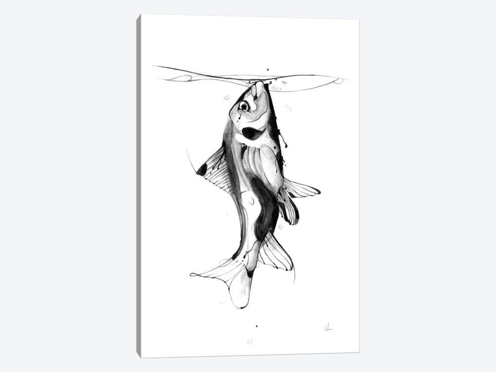Fish Fuel by Alexis Marcou 1-piece Canvas Artwork