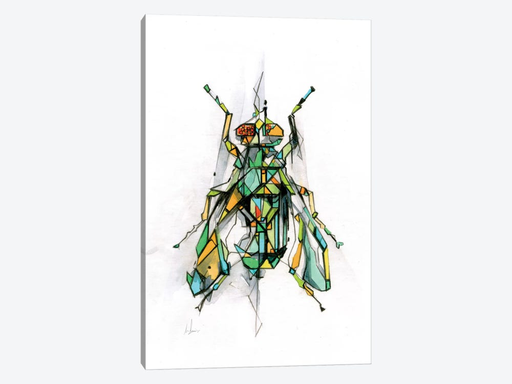 Fly by Alexis Marcou 1-piece Canvas Art Print