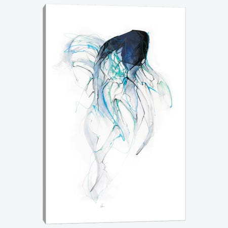Ghost Fish Canvas Print #AMU13} by Alexis Marcou Canvas Artwork