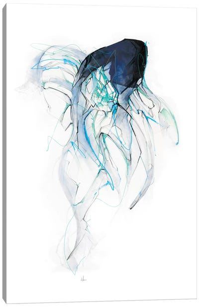 Ghost Fish Canvas Art Print