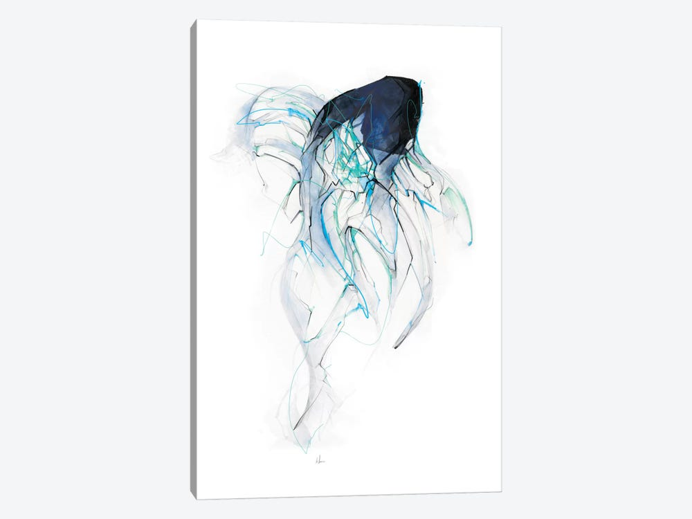 Ghost Fish by Alexis Marcou 1-piece Canvas Artwork