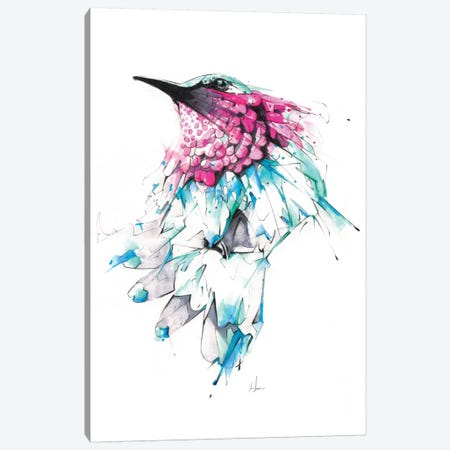 Hummingbird Canvas Print #AMU16} by Alexis Marcou Canvas Art Print