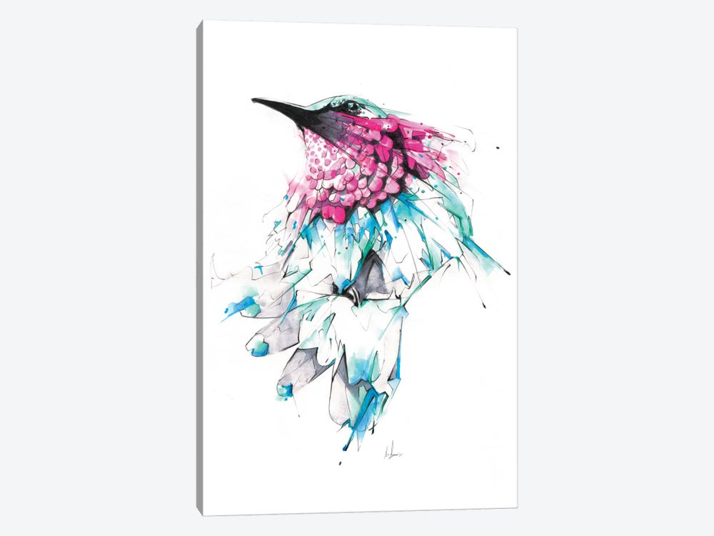 Hummingbird by Alexis Marcou 1-piece Canvas Print
