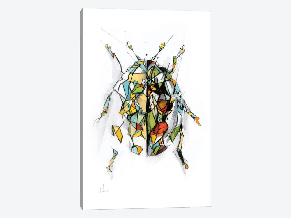 Ladybird by Alexis Marcou 1-piece Canvas Print