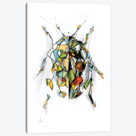 Ladybird Canvas Print #AMU18} by Alexis Marcou Canvas Art