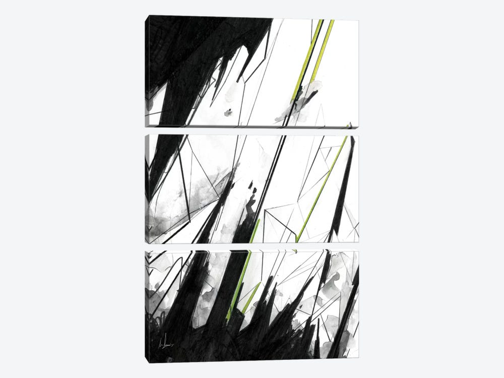 102 by Alexis Marcou 3-piece Canvas Artwork