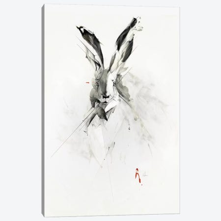 Mr. Rabbit Canvas Print #AMU21} by Alexis Marcou Canvas Art Print