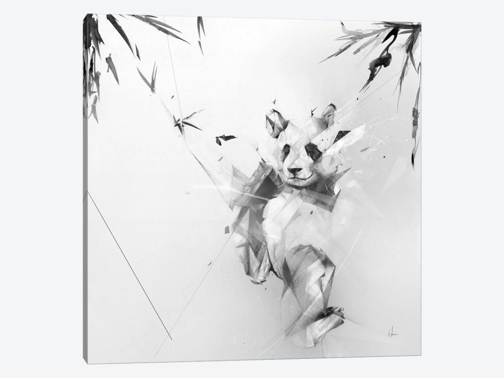 Panda by Alexis Marcou 1-piece Canvas Print