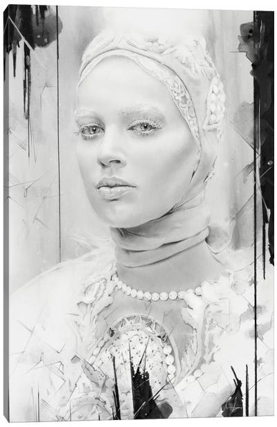 Snow Queen Canvas Art Print
