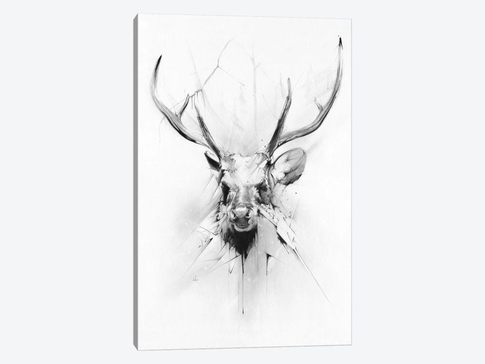 Stag by Alexis Marcou 1-piece Art Print