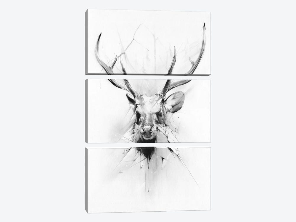 Stag by Alexis Marcou 3-piece Art Print