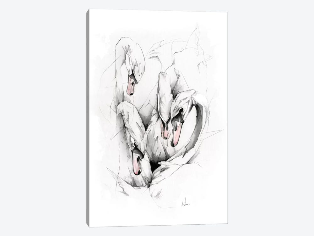 Swans by Alexis Marcou 1-piece Art Print