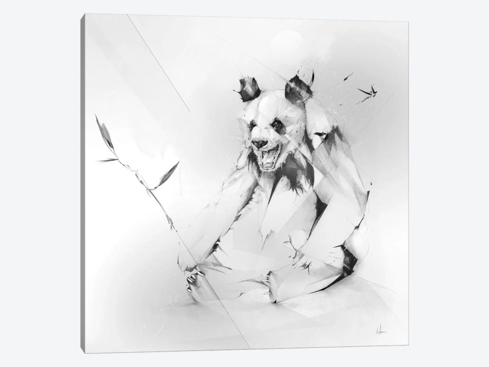 Bad Panda 1-piece Canvas Wall Art