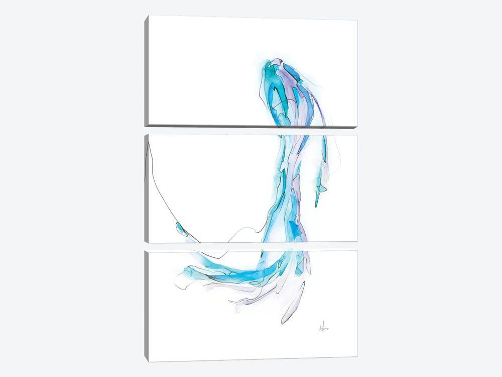 Phantom IV by Alexis Marcou 3-piece Canvas Print