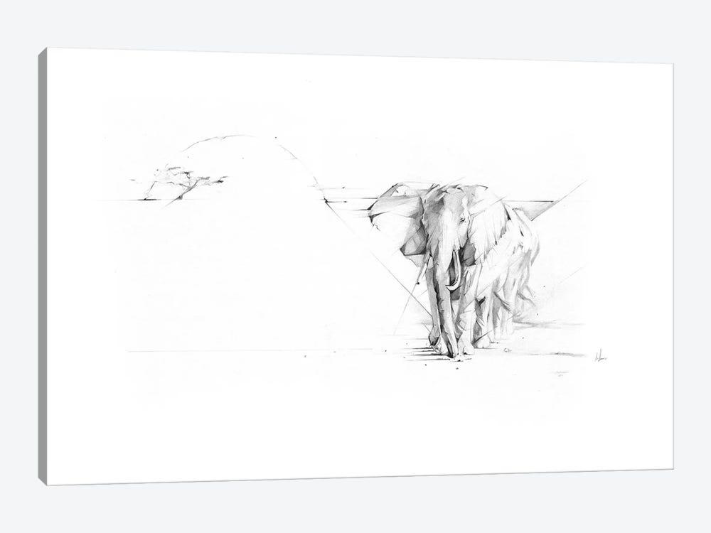 Elephant Parade by Alexis Marcou 1-piece Canvas Wall Art