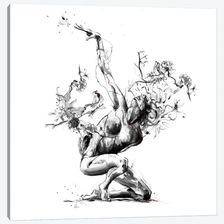 Envy Canvas Print #AMU56} by Alexis Marcou Canvas Art Print