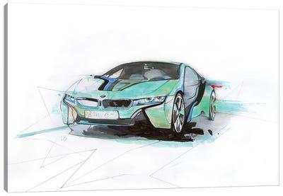 i8 Green Canvas Art Print