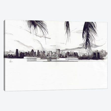 Miami Canvas Print #AMU61} by Alexis Marcou Canvas Print