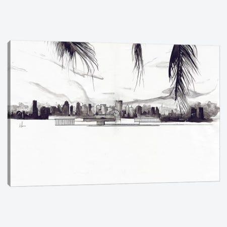 Miami Canvas Print #AMU61} by Alexis Marcou Canvas Print