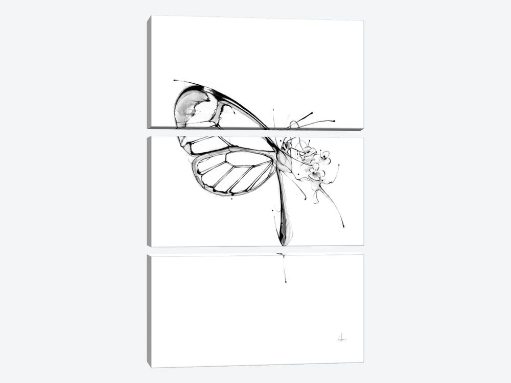 Butterfly Fuel by Alexis Marcou 3-piece Art Print