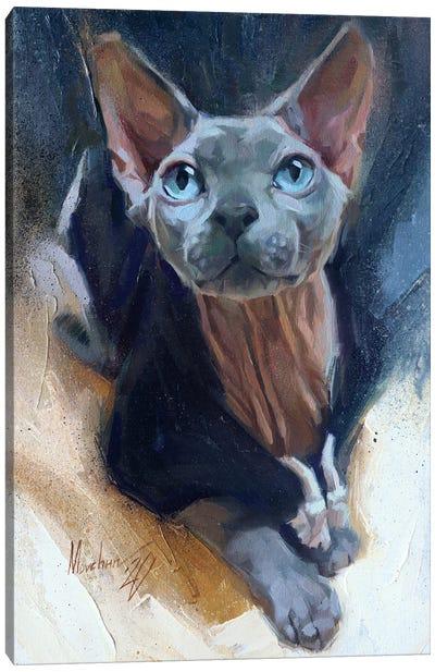 Simon The Sphinx Canvas Art Print