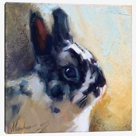 Little Bunny Canvas Print #AMV14} by Alex Movchun Canvas Art