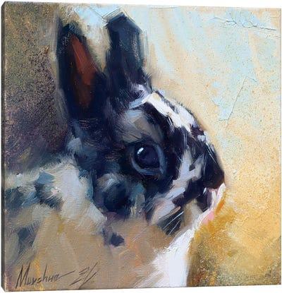 Little Bunny Canvas Art Print