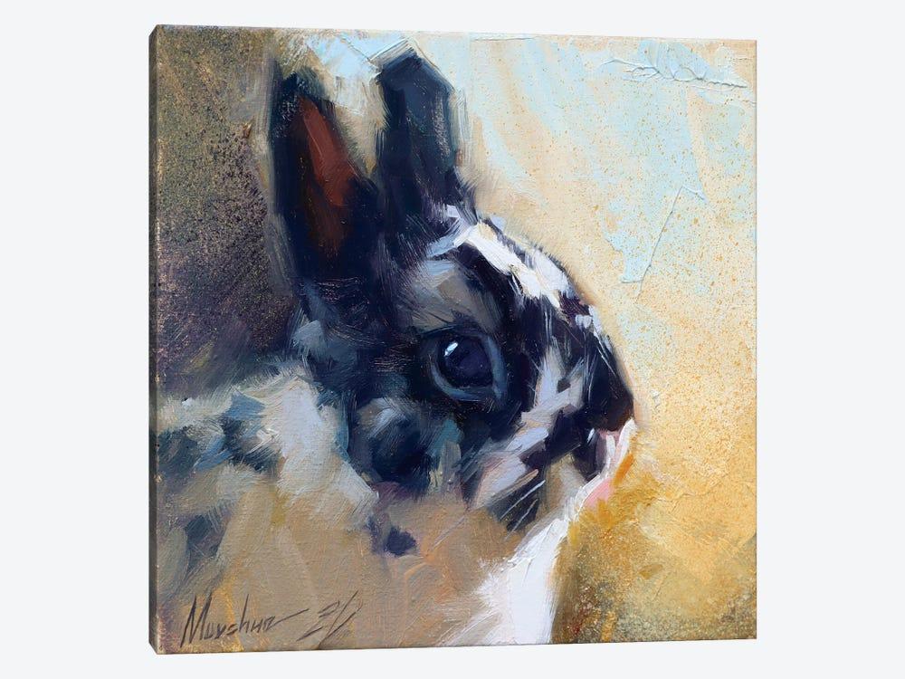 Little Bunny by Alex Movchun 1-piece Art Print