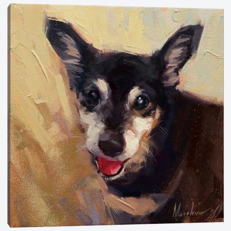 Best Friend Canvas Print #AMV19} by Alex Movchun Canvas Art Print