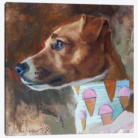 Jack Russell Canvas Print #AMV7} by Alex Movchun Canvas Print