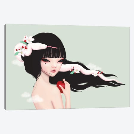 Eve Canvas Print #AMW10} by Anne Martwijit Canvas Artwork