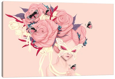 Fairy Rose Canvas Art Print