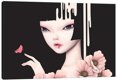 Misty Rose Canvas Art Print