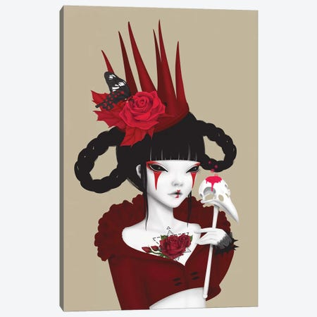 Red Queen Canvas Print #AMW21} by Anne Martwijit Canvas Print