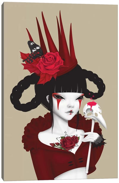 Red Queen Canvas Art Print