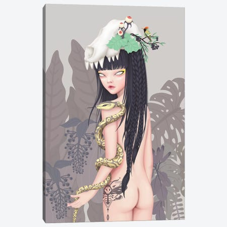 Wild Princess Canvas Print #AMW31} by Anne Martwijit Canvas Art