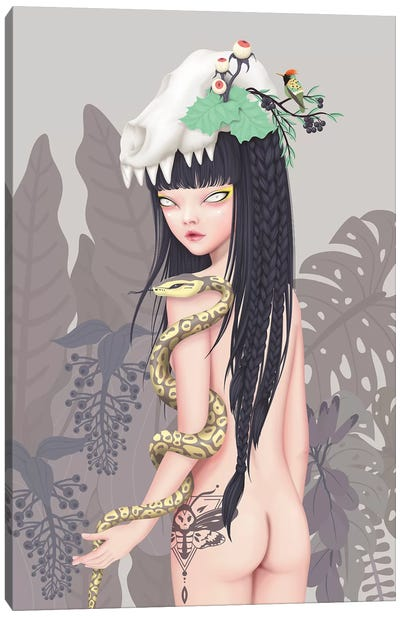 Wild Princess Canvas Art Print