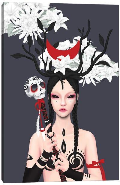 Blood Moon Canvas Art Print