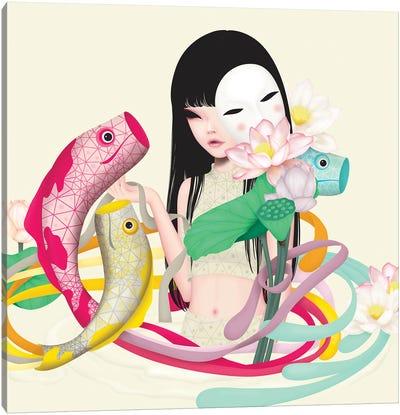 Koi Dance Canvas Art Print