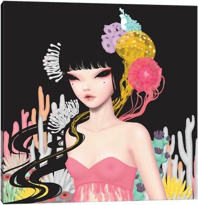 Princess Of The Sea Canvas Art Print