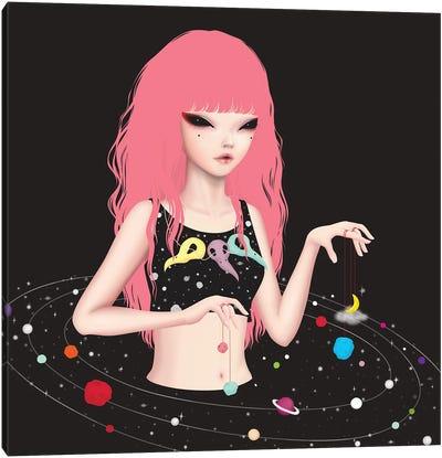 Candy World Canvas Art Print