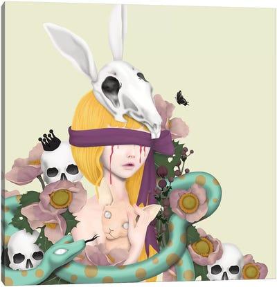 Blind Girl Canvas Art Print