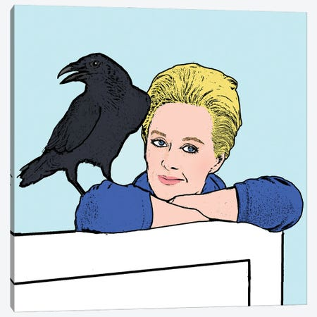 Birds Canvas Print #AMY54} by Amy May Pop Art Canvas Print