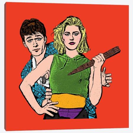 Buffy Canvas Print #AMY56} by Amy May Pop Art Art Print