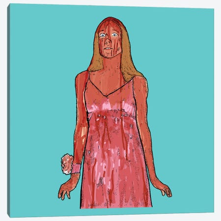 Carrie Canvas Print #AMY57} by Amy May Pop Art Canvas Print