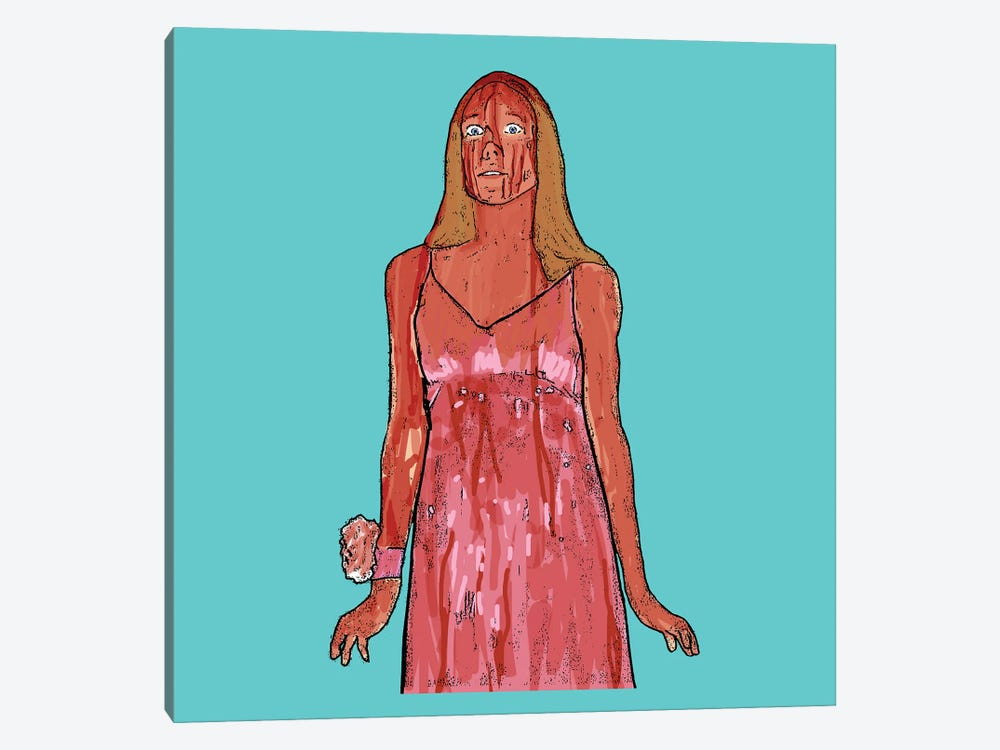Carrie by Amy May Pop Art 1-piece Canvas Art