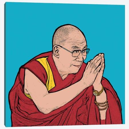 Dalai Lama Canvas Print #AMY58} by Amy May Pop Art Canvas Artwork