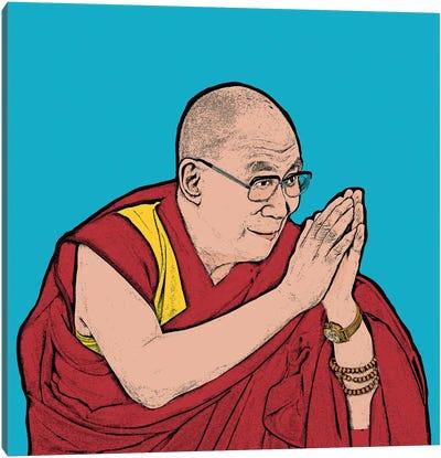 Dalai Lama Canvas Art Print